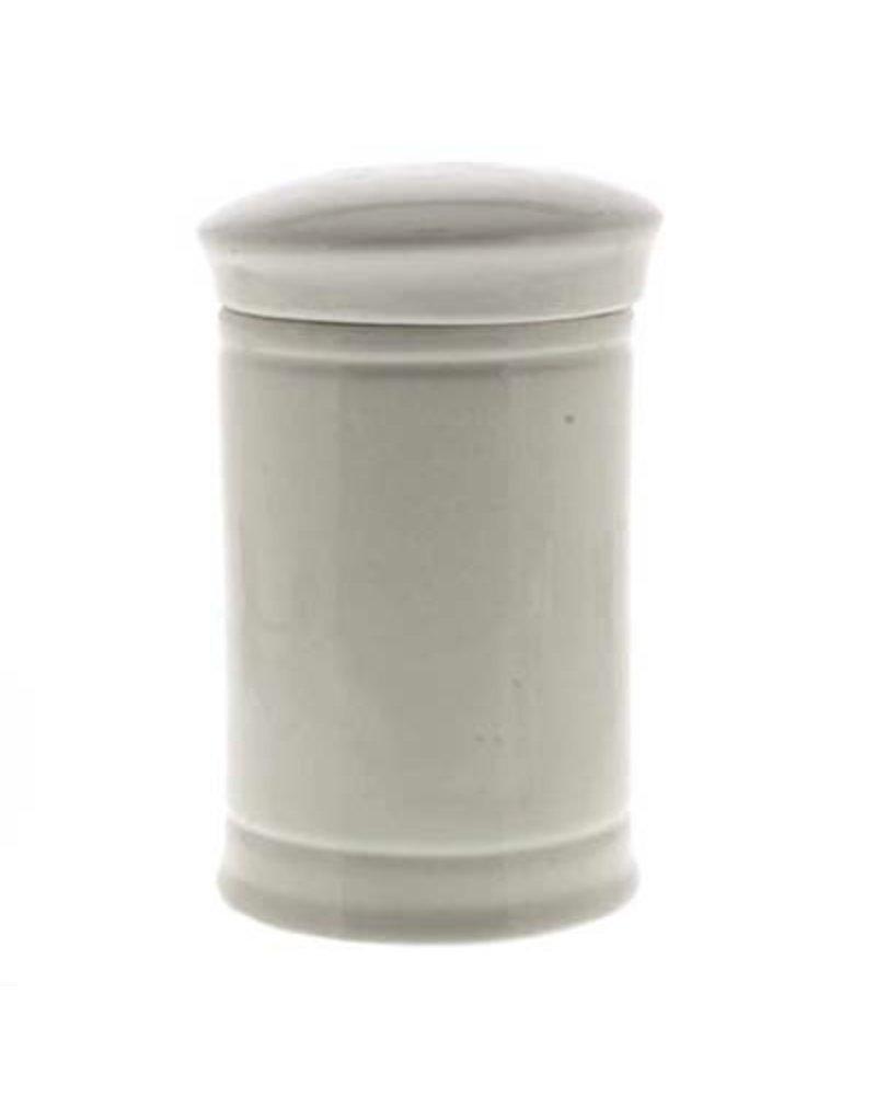 Rad. Gentian. Pulv. Med Ceramic Apothecary Jar