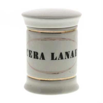 Cera Lanae Sm Ceramic Apothecary Jar