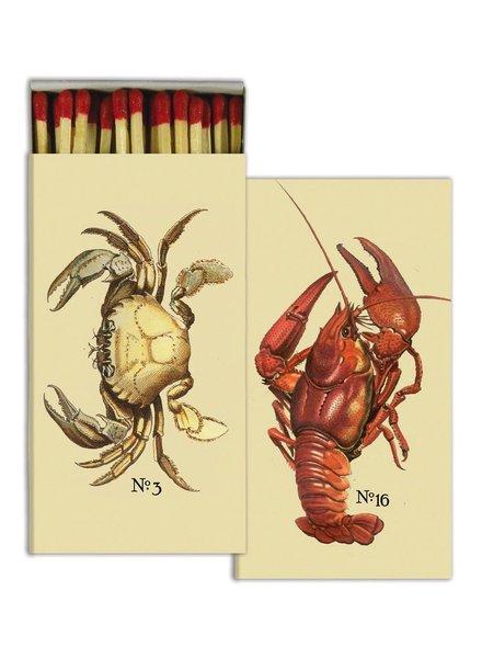 HomArt Crab & Lobster HomArt Nautical Matches Set of 3 Boxes