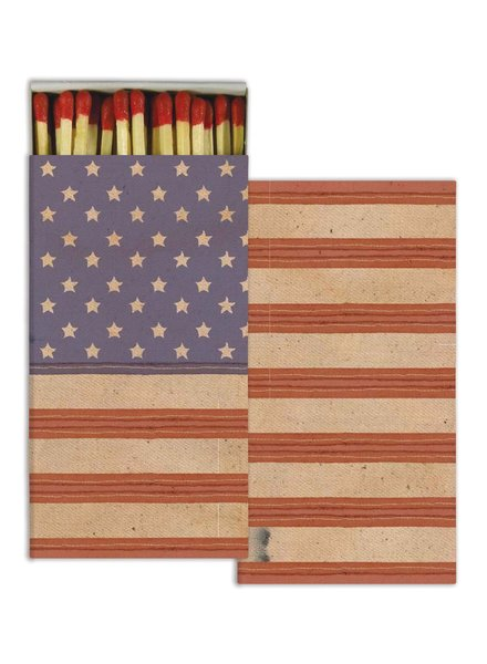 HomArt American Flag HomArt Flag Matches - Set of 3 Boxes