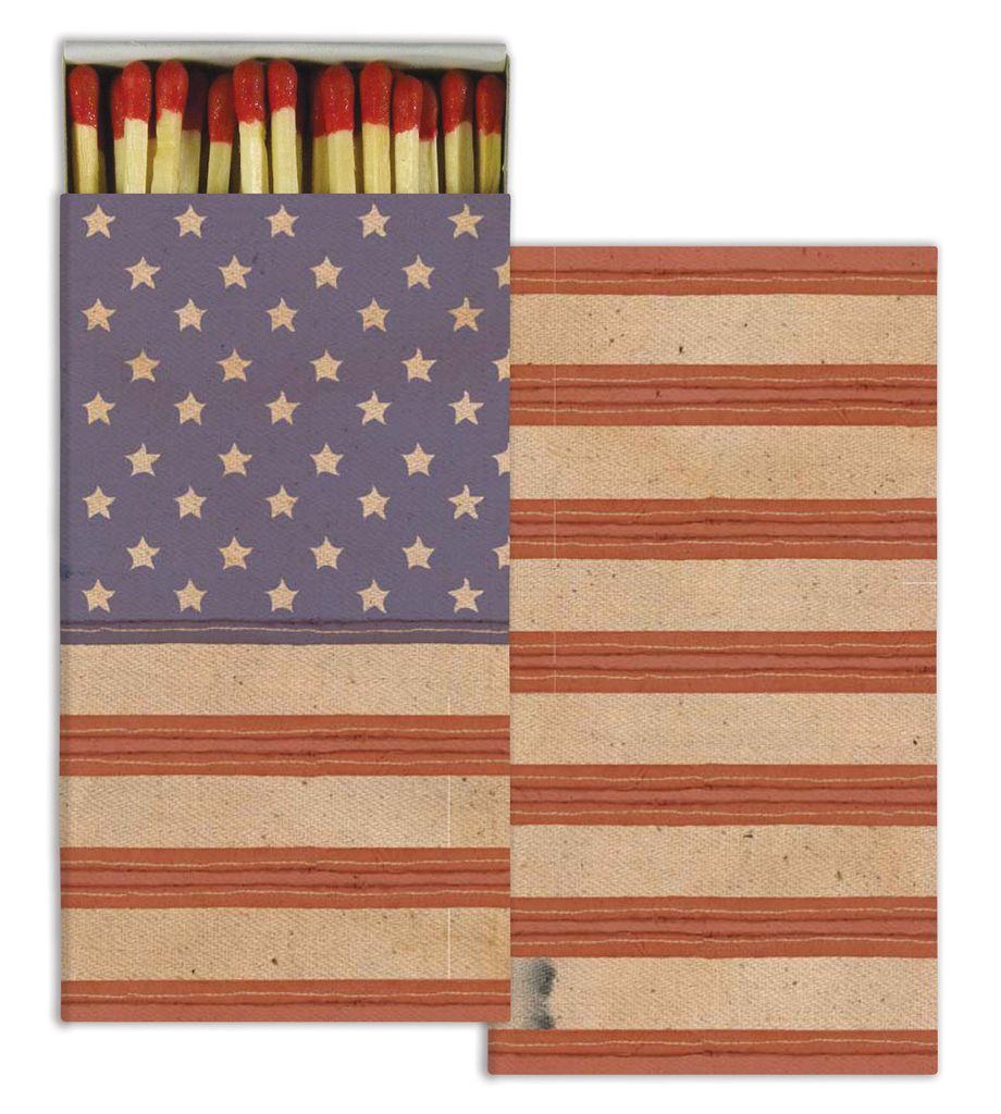 HomArt American Flag HomArt Flag Matches - Set of 3 Boxes