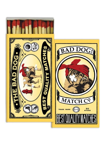HomArt Bad Dog HomArt Matches - Set of 3 Boxes