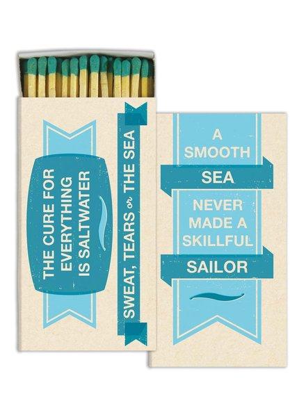 HomArt Quotes - Sea HomArt Matches - Set of 3 Boxes