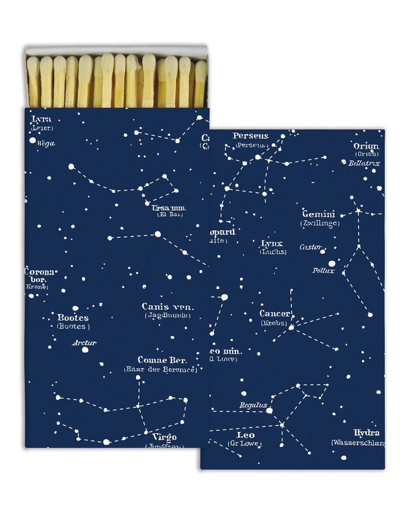 HomArt Constellations HomArt Matches - Set of 3 Boxes