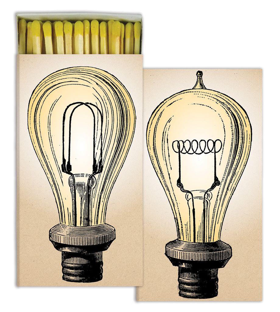HomArt Light Bulbs HomArt Matches - Set of 3 Boxes