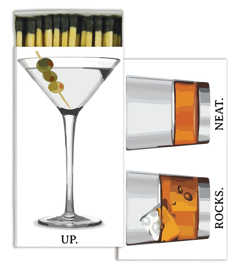 HomArt Cocktail HomArt Bar Matches - Set of 3 Boxes