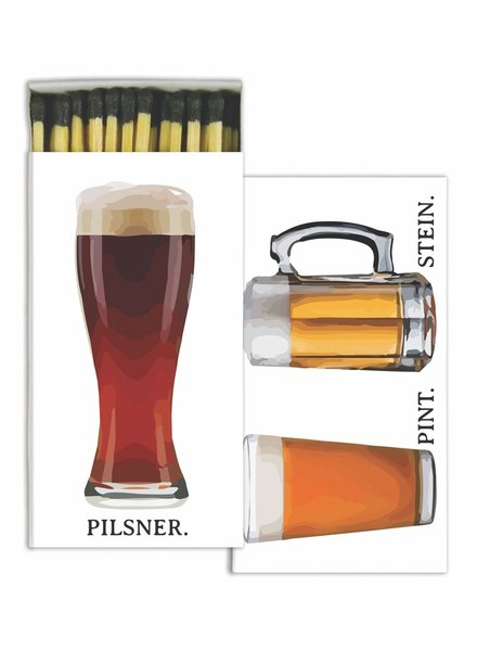 HomArt Beer HomArt Bar Matches - Set of 3 Boxes
