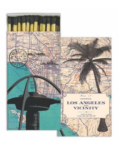 HomArt Los Angeles Map HomArt Matches - Set of 3 Boxes