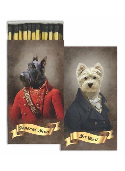HomArt Regal Dogs HomArt Pet Matches - Set of 3 Boxes