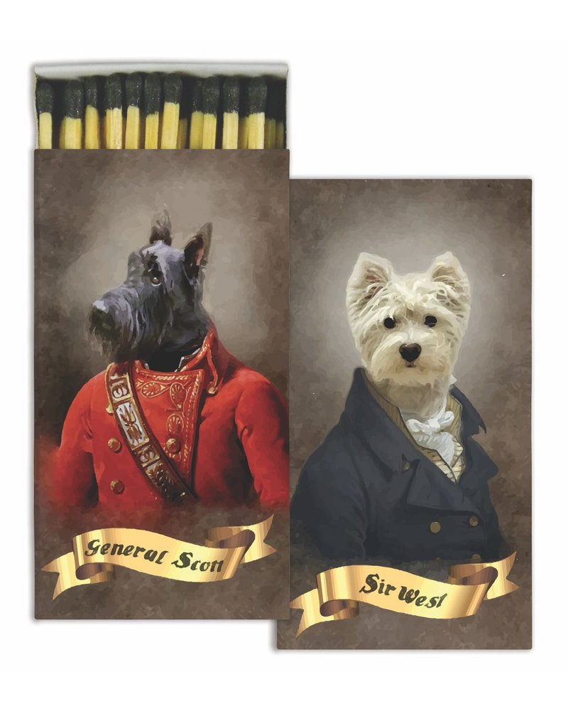 HomArt Regal Dogs HomArt Pet Matches - Set of 3 Boxes