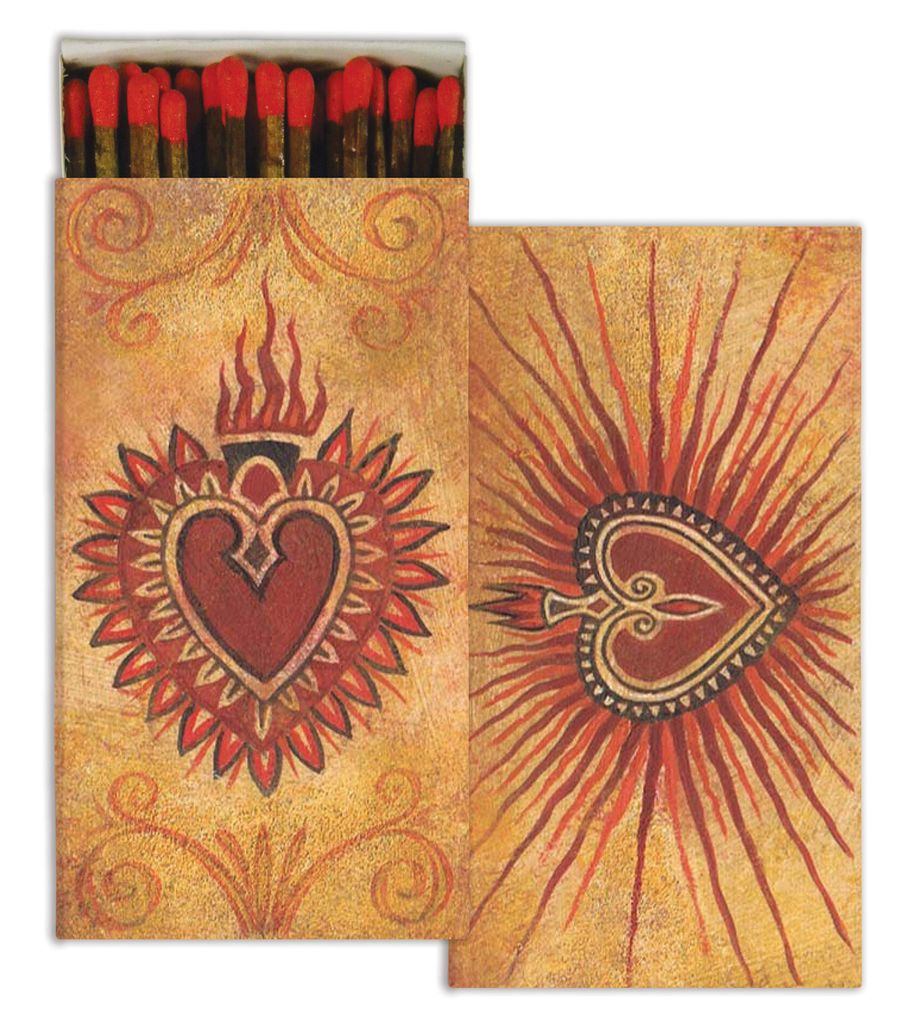HomArt Amo-Love HomArt Matches - Set of 3 Boxes