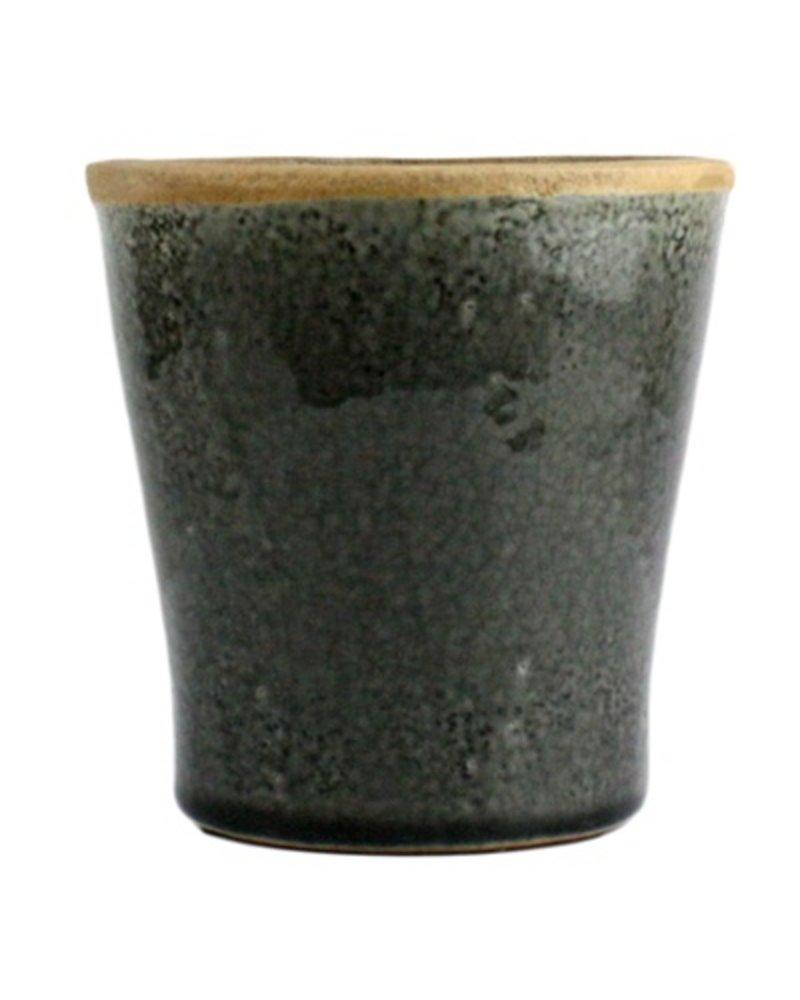 HomArt Mulberry Ceramic Cachepot - Sm Espresso
