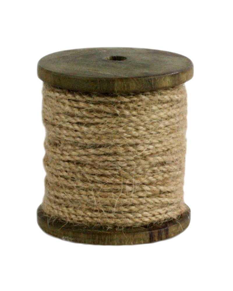 HomArt Spool of Jute - Sm 81 Feet