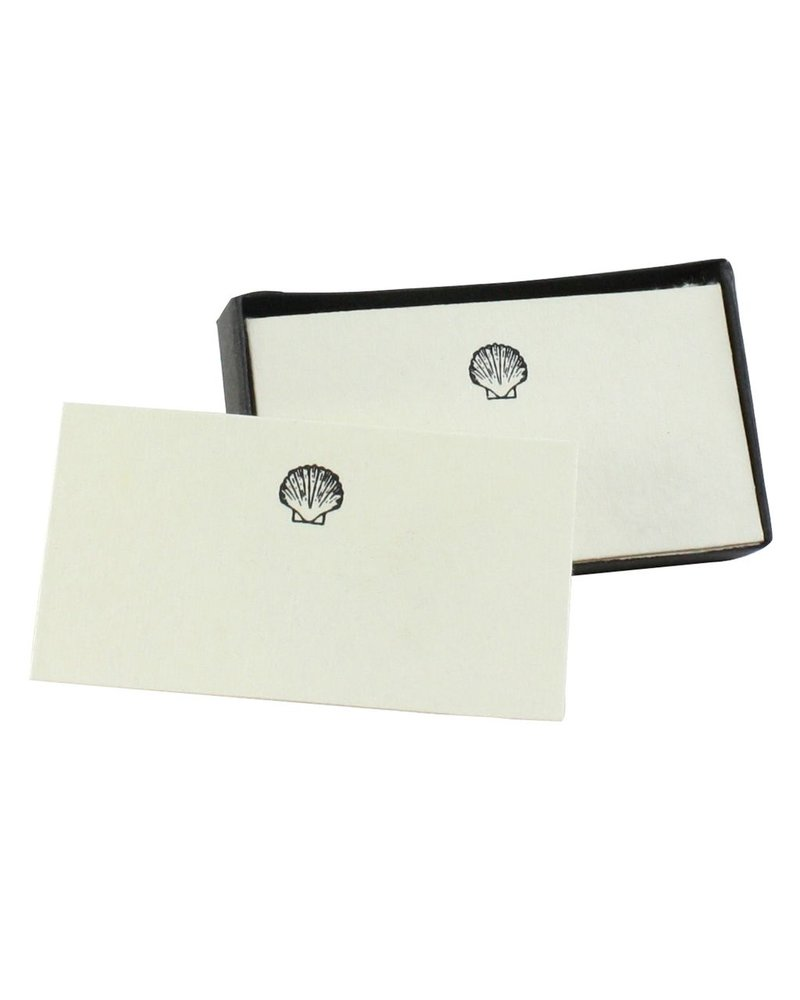 HomArt Printed Paper Card - Box of 32 Scallop