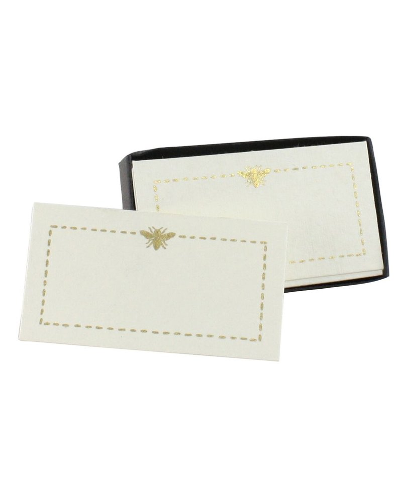 HomArt Printed Paper Card - Box of 32 Bee