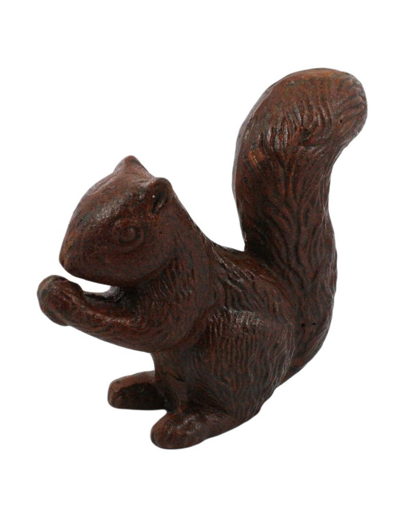 HomArt Rusty the Squirrel - Cast Iron Rust
