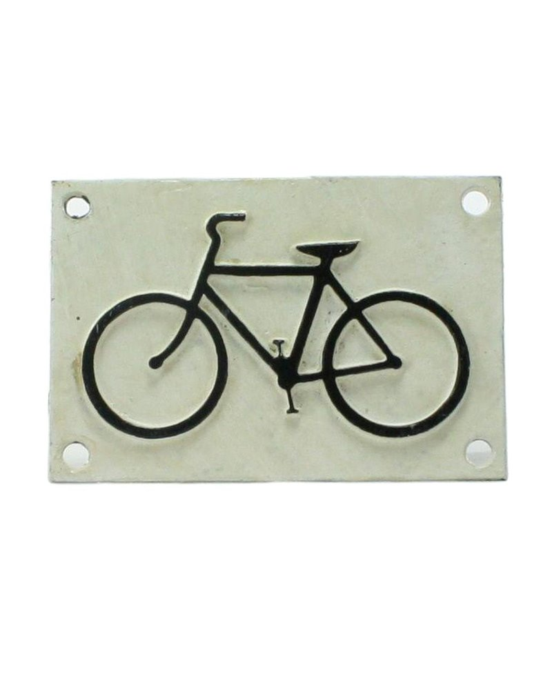 HomArt Cast Iron Sign - Bicycle Logo