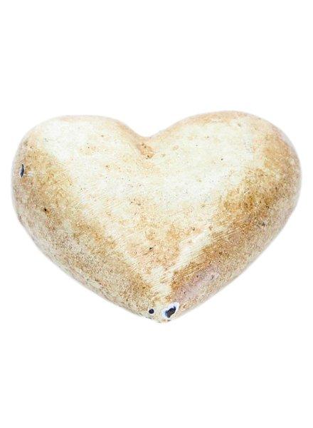 HomArt Heart - Cast Iron White