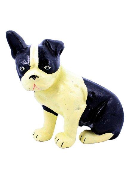 HomArt Lonnie the Boston Terrier Doorstop - Cast Iron