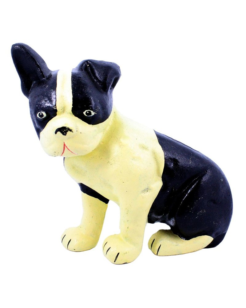 HomArt Lonnie the Boston Terrier Doorstop - Cast Iron