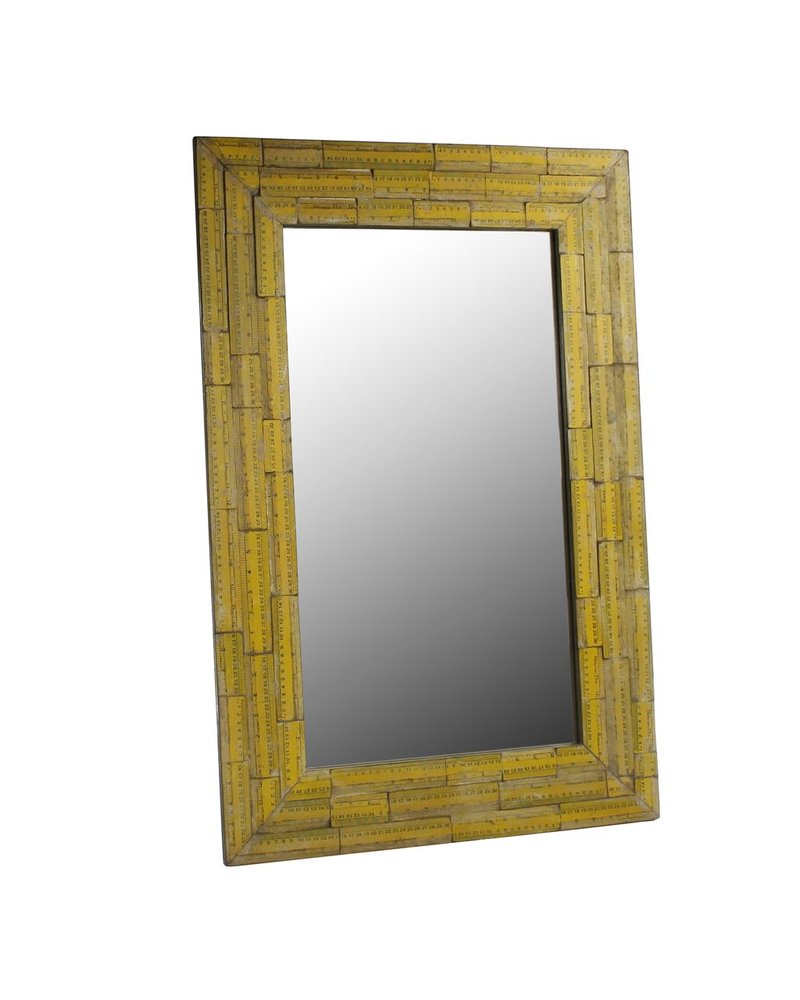 HomArt Wood Ruler Mirror - Recycled