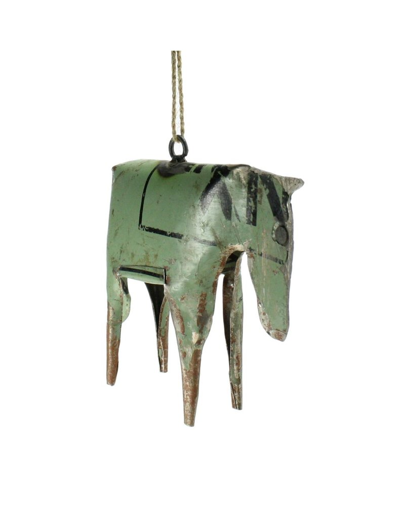 HomArt Reclaimed Metal Ornament - Horse