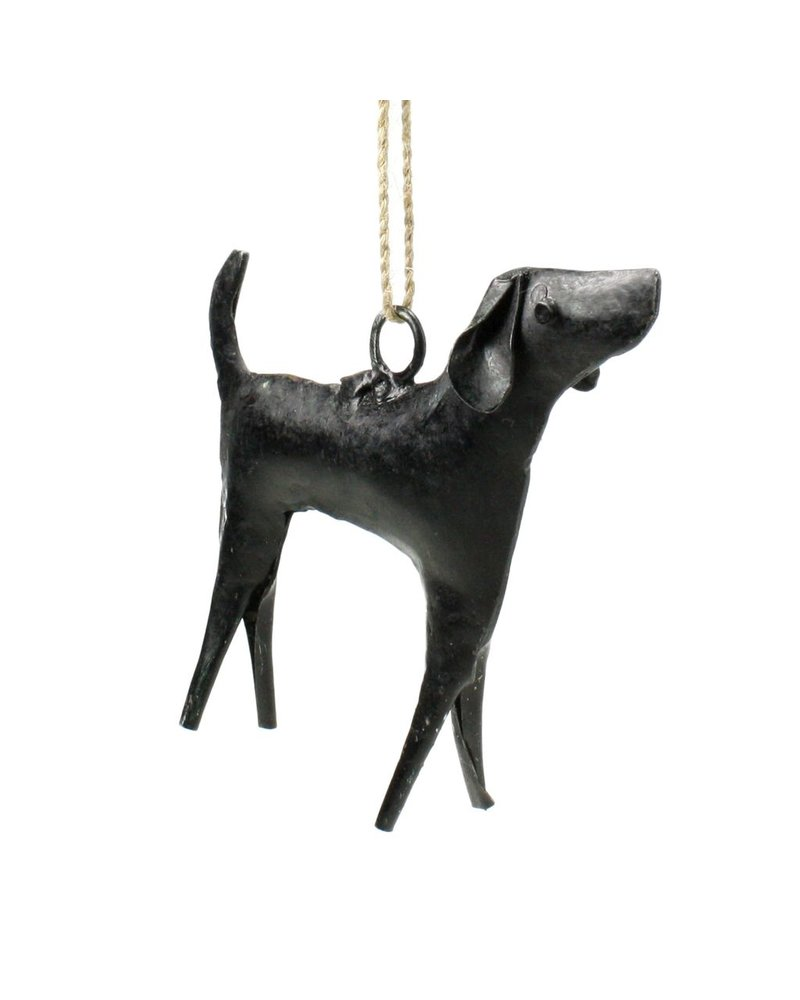 HomArt Reclaimed Metal Ornament - Dog
