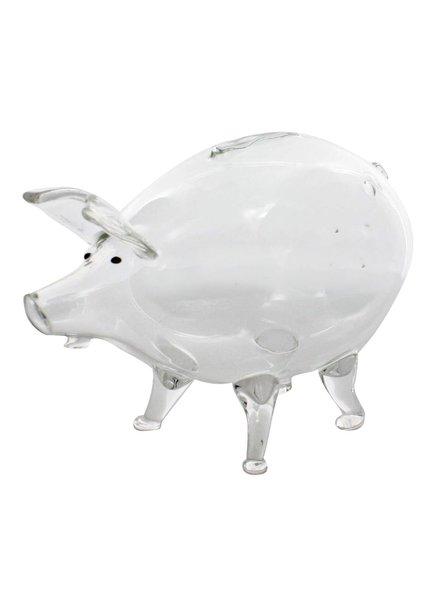 HomArt Piggy Bank - Glass Clear