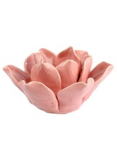 HomArt Lotus Tea Light Holder Pink