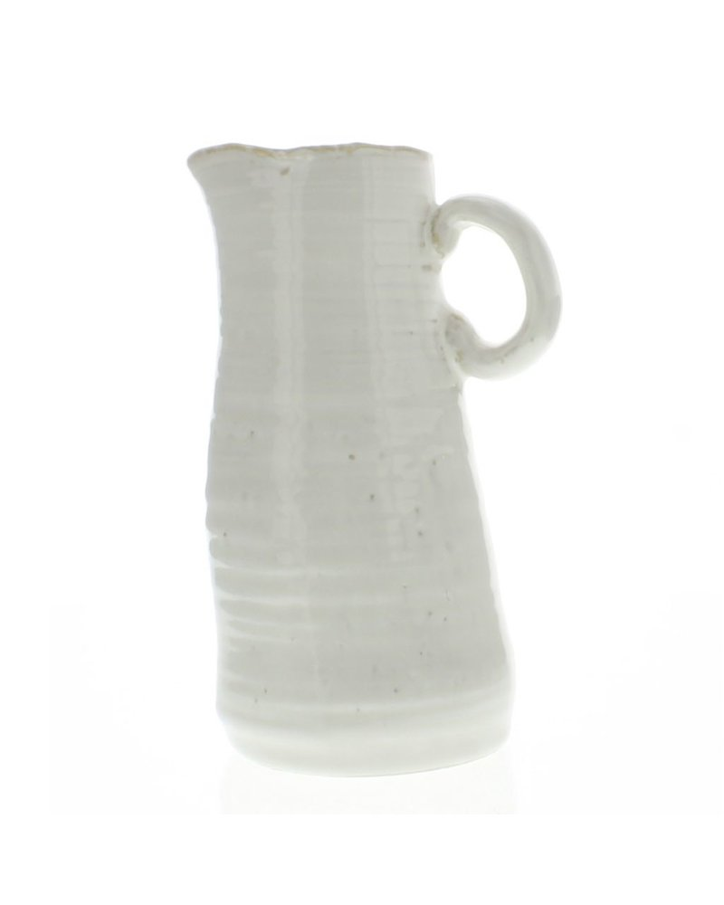 HomArt Summerland Ceramic Vase - Lrg Cream