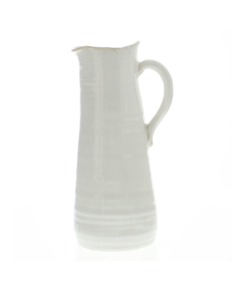 HomArt Summerland Ceramic Vase - Ex Lrg Cream