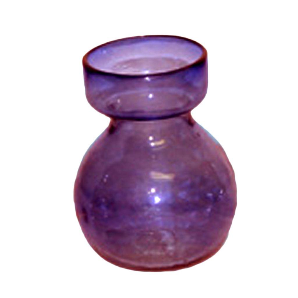 HomArt Bulb Vase Recycled Amethyst
