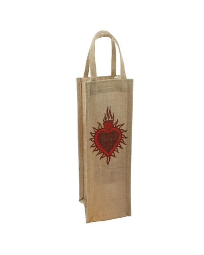 HomArt Wine Tote - 1 Bottle - Sacred Heart