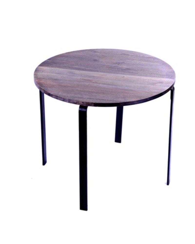 HomArt Loft Round Coffee Table Grey