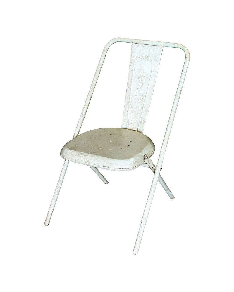 HomArt Parc Metal Chair - White