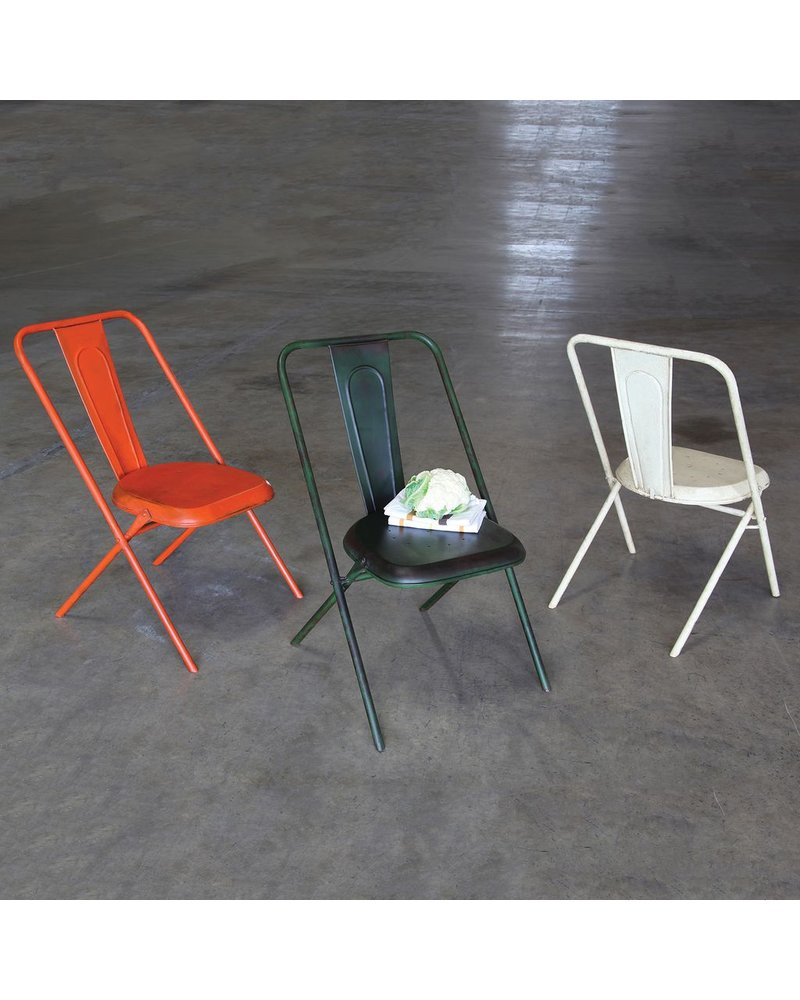 HomArt Parc Metal Chair - Green