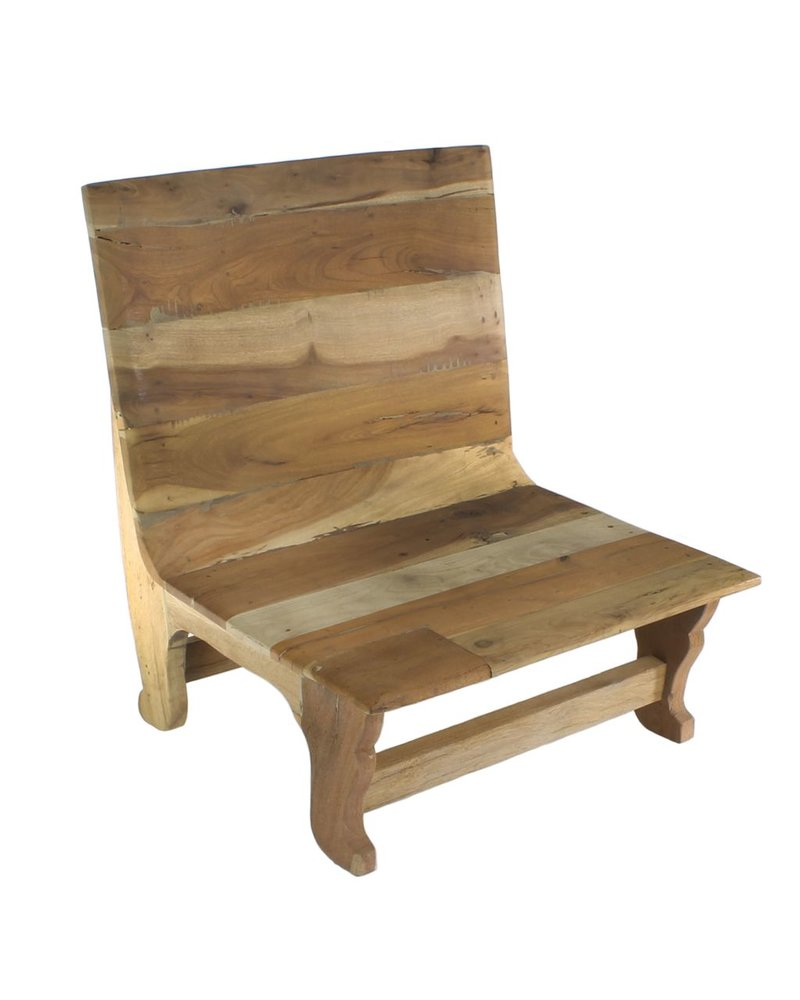HomArt Avalon Wood Chair - Natural