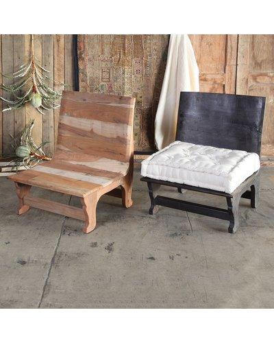 HomArt Avalon Wood Chair - Dark Stained