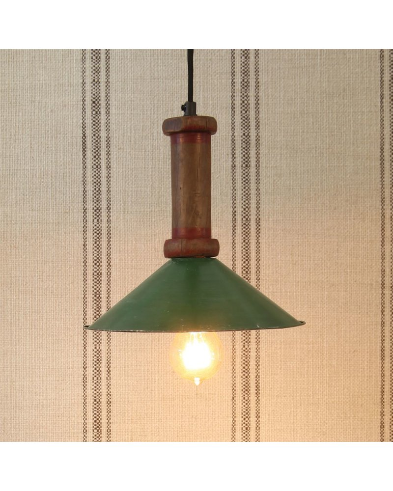 HomArt Piper Wood Spool Pendant Lamp