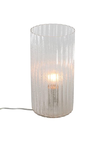 HomArt Stina Glass Table Light - Clear