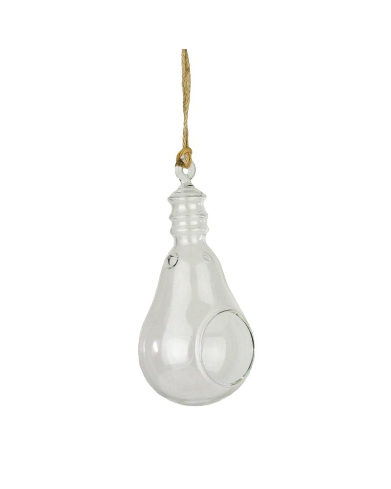 HomArt Hanging Glass Light Bulb - Sm Clear