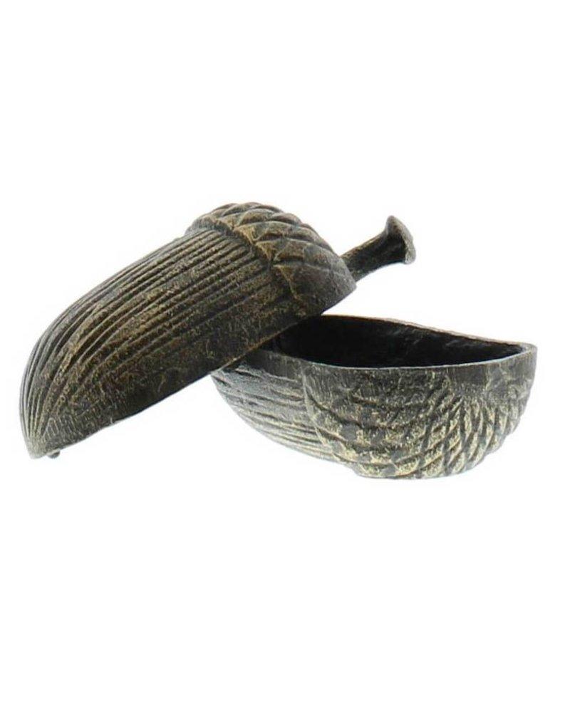 HomArt Acorn Box - Cast Iron - Antique Bronze