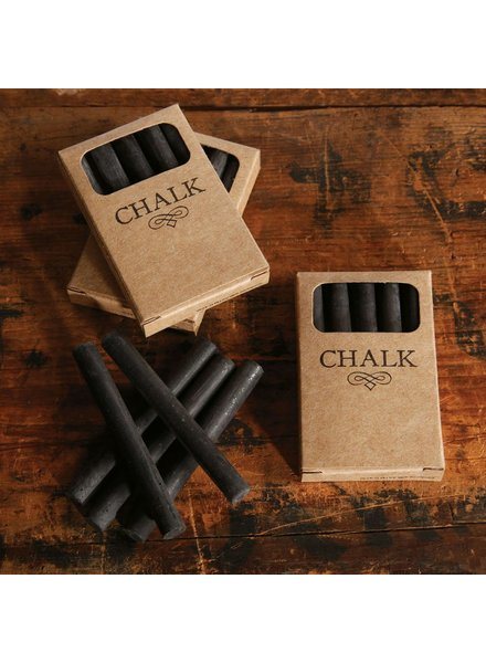 HomArt Box of Chalk - 5 Sticks Black