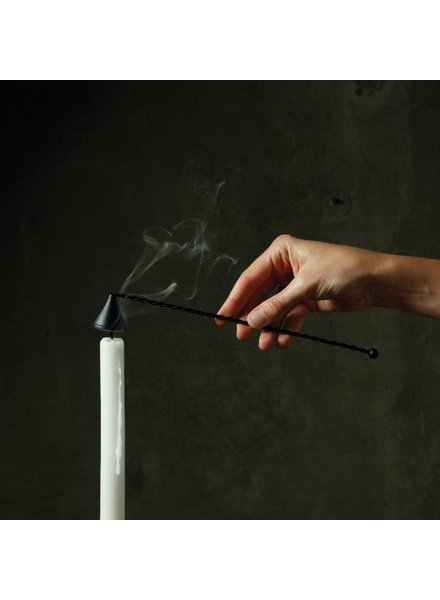 HomArt Candle Snuffer - Metal Black