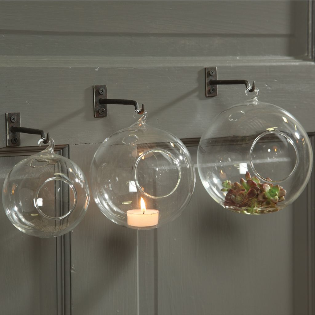 HomArt Hanging Bubble - Med Clear
