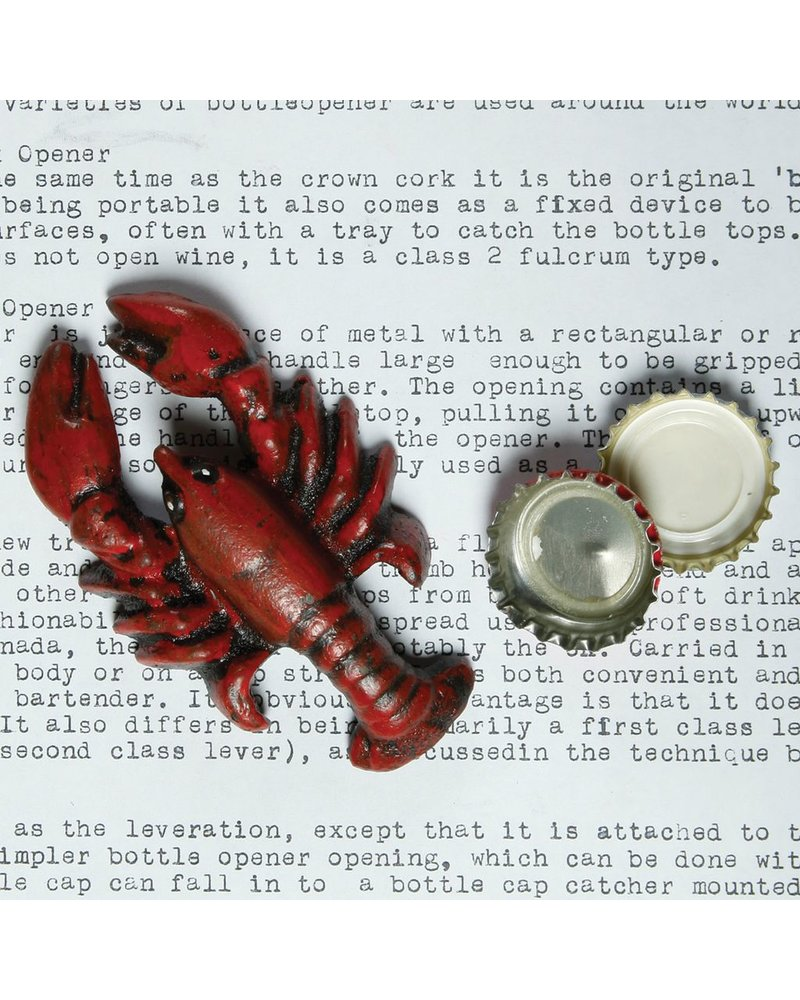HomArt Lobster HomArt Cast Iron Bottle Opener