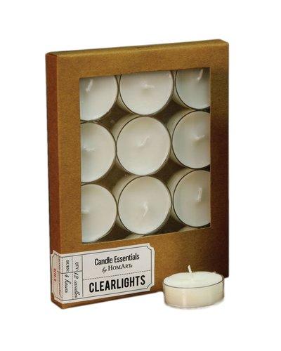HomArt Clearlite - Box of 12 Ivory