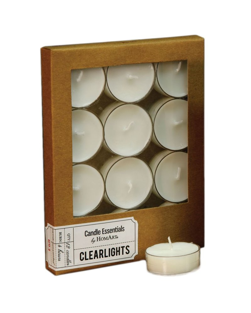 HomArt Clearlite - Box of 12 Ivory