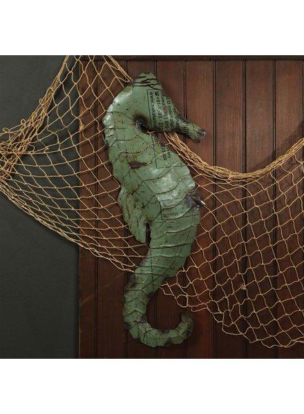HomArt Reclaimed Metal Seahorse - Wall Mount Object