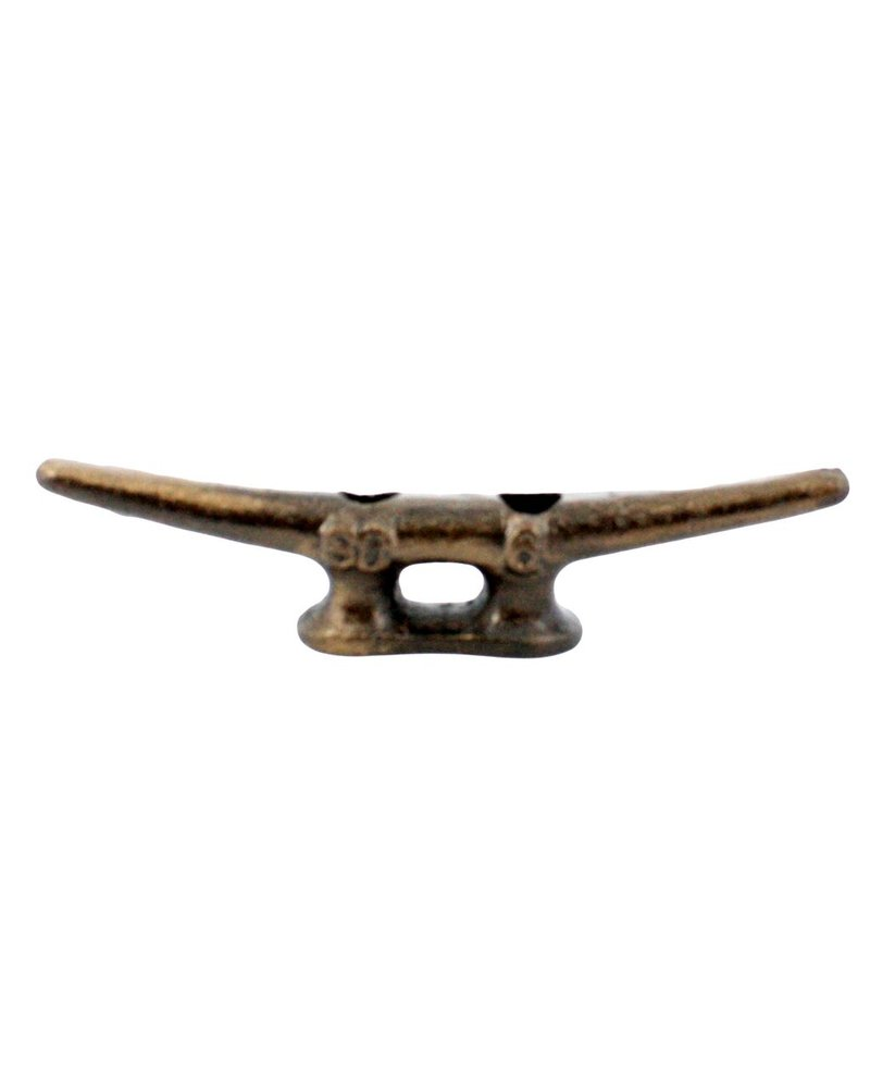 HomArt Cleat Hook 6 in - Cast Iron
